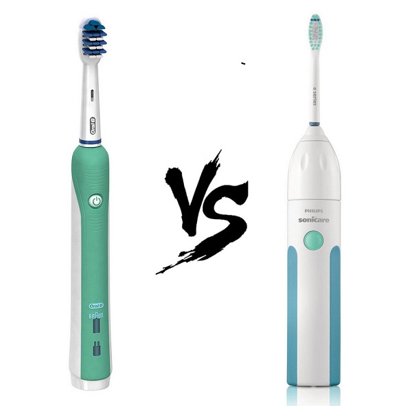 so sánh Oral-B Professional Deep Sweep Triaction 1000 vs Philips Sonicare HX5610/01 Essence