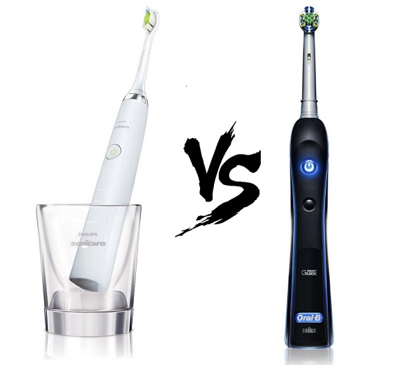 so sánh philips sonicare diamond clean với oral b back 7000