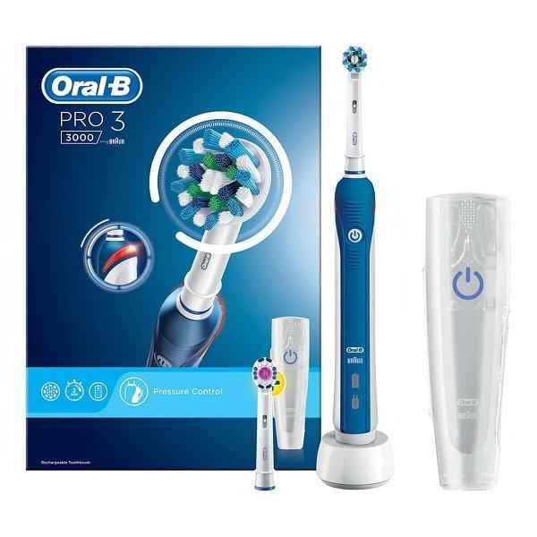 Review bàn chải đánh răng Oral-B Professional Precision 3000