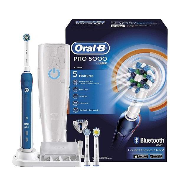 Bàn chải điện Oral-B professional precision 5000