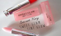 son dưỡng secret key sweet glam tint glow review