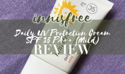 review kem chống nắng innisfree daily mild spf35