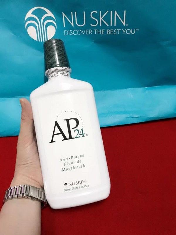 Ap24 Nuskin Anti Plaque Flouride Mouthwash