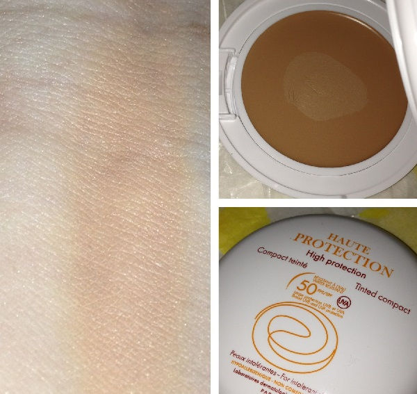kem chống nắng thay kem nền Eau Thermale Avène High Protection Tinted Compact SPF 50