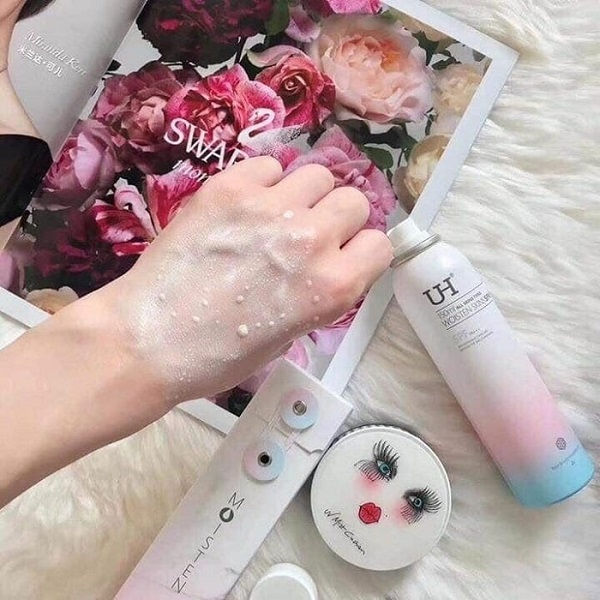 texture Xịt chống nắng Maycreate
