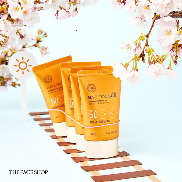 The Face Shop Natural Sun Eco Extreme siêu chống nắng