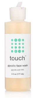 Touch 10% Glycolic Acid Face Wash