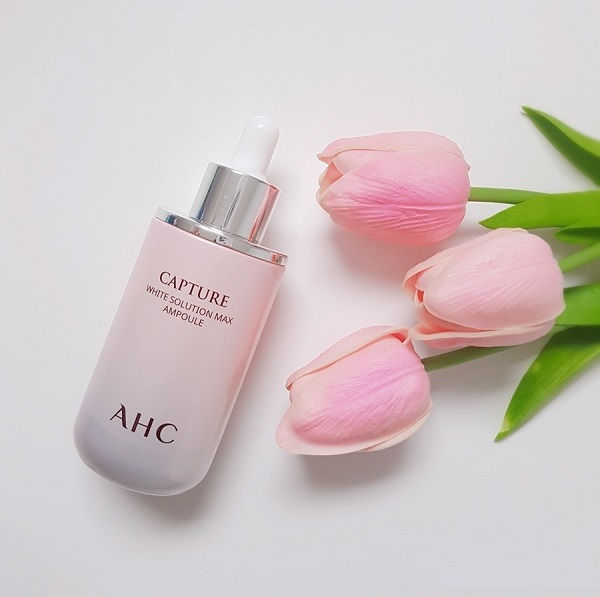 Review: Serum AHC Capture White Solution Max Ampoule hồng