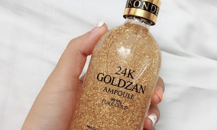 Review: Serum 24K Goldzan Ampoule