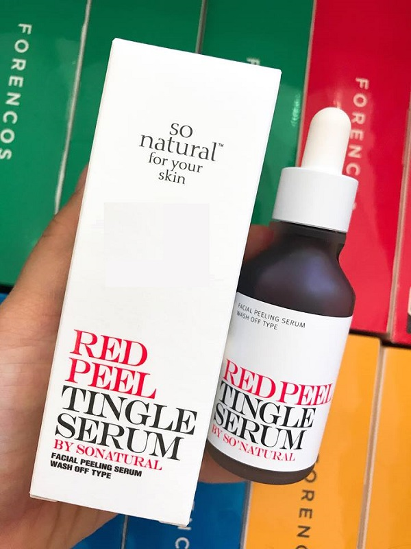 Xuất xứ Red Peel Tingle Serum SoNatural
