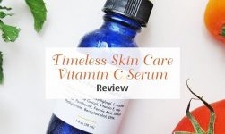 review serum timeless hyaluronic acid & vitamin c